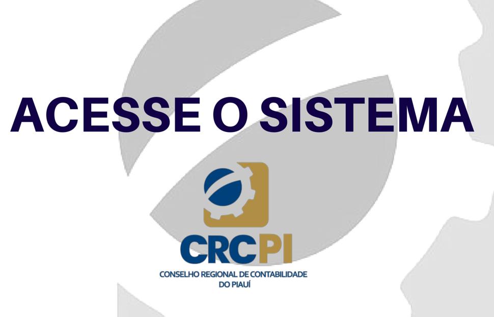 ACESSE O SISTEMA