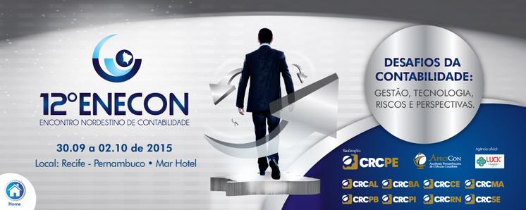 12º ENECON será realizado em Recife-PE