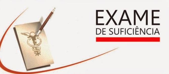 Abertas as inscrições para o 1º Exame de Suficiência 2018