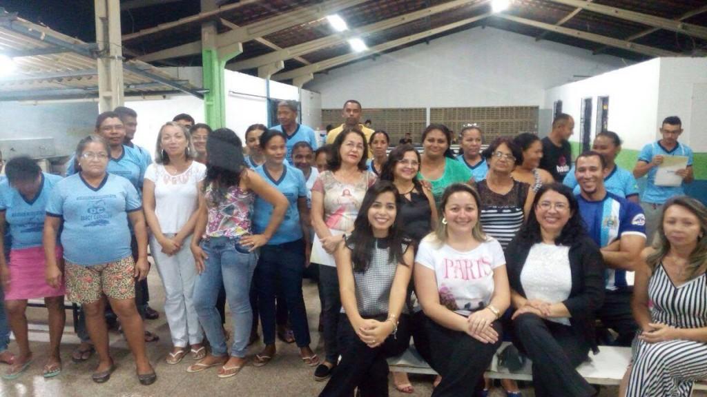 Escola Municipal Darcy de Carvalho recebe palestra sobre Orçamento Familiar