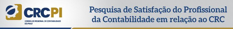 Pesquisa de Satisfação do Profissional da Contabilidade sobre CRC-PI