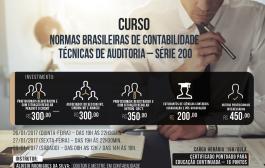 Curso Normas Brasileiras de Contabilidade - Técnicas de Auditoria  está com inscrições abertas