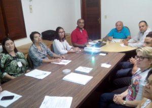 Conselho de Contabilidade faz reunião com equipe de gestão