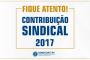 COMUNICADO DA CONTRIBUIÇÃO SINDICAL 2017