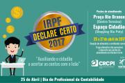 """CRC-PI realiza 5ª edição do projeto """"Declare Certo""""; Confira a programação da Semana da Contabilidade"""