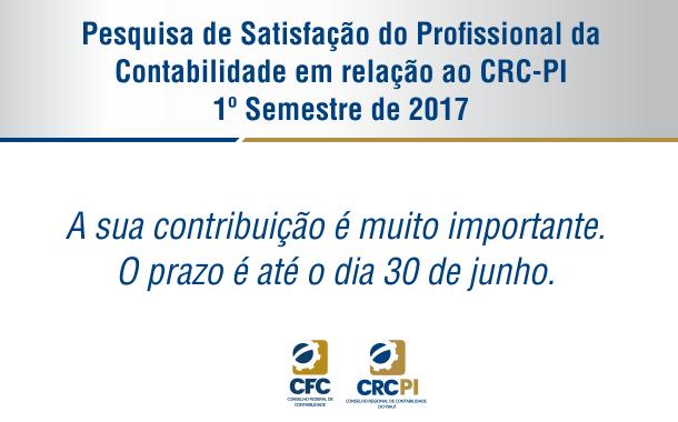 Conselho realiza pesquisa de satisfação do profissional da contabilidade