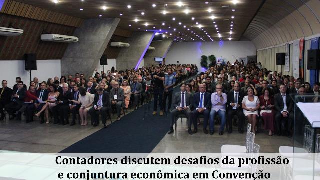 Contadores discutem desafios da profissão e conjuntura econômica em Convenção