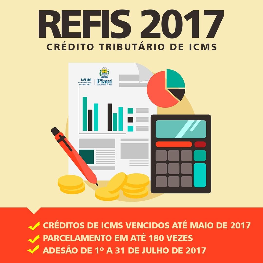 Refis garante parcelamento de crédito tributário de ICMS em até 180 vezes