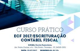 Curso Prático de Escrituração Contábil Fiscal está com inscrições abertas