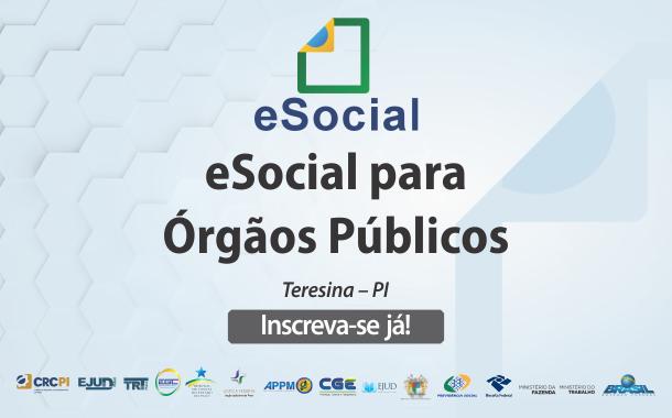 Abertas as inscrições do Curso E-social para órgãos públicos