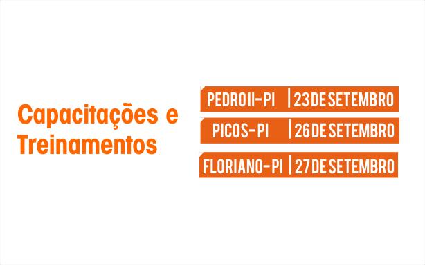CRC-PI abre inscrições para capacitações em Picos, Pedro II e Floriano