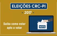 Eleições CRCs 2017: saiba como estar apto a votar