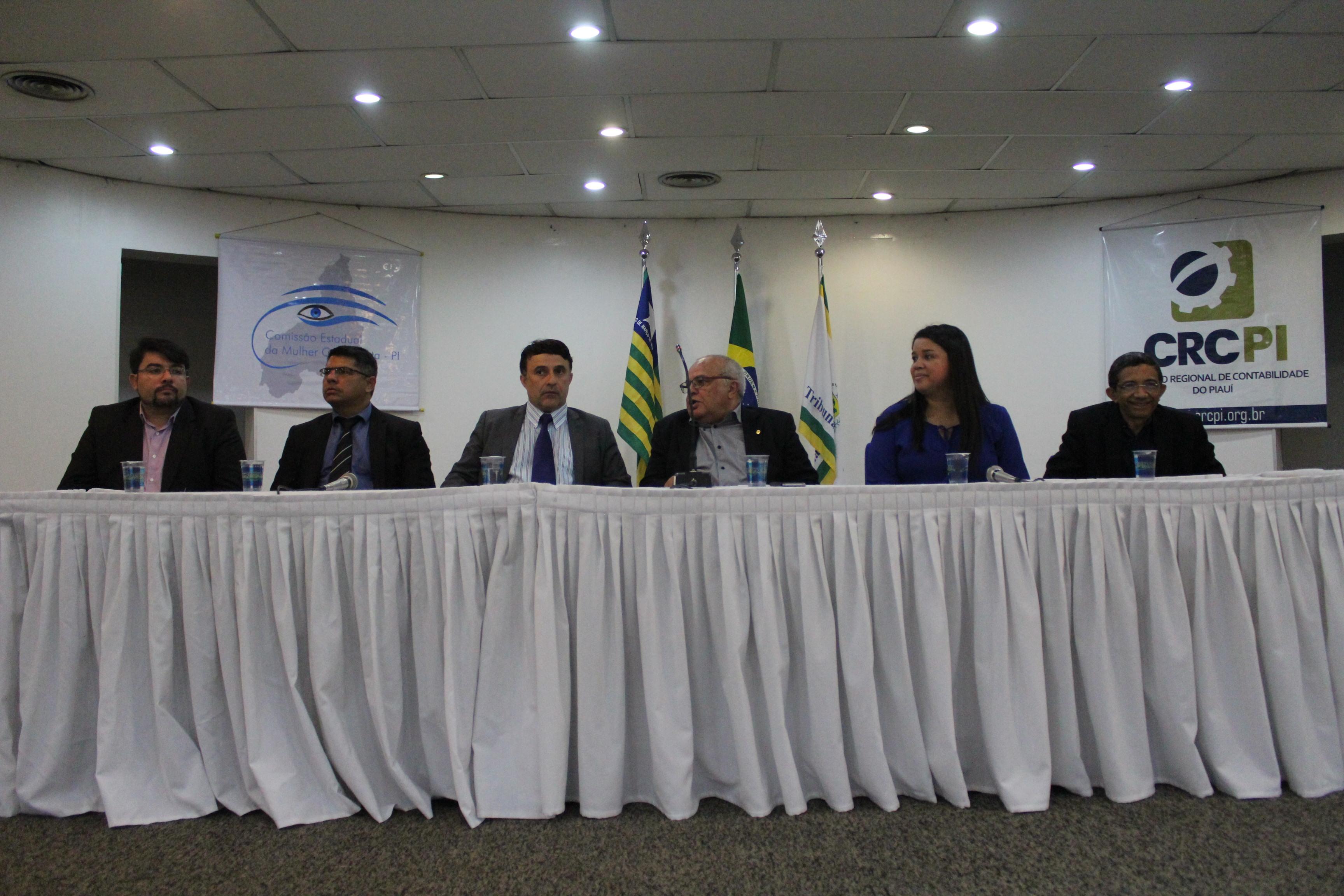 Seminário discute autoria e controle das Contas Públicas em Teresina