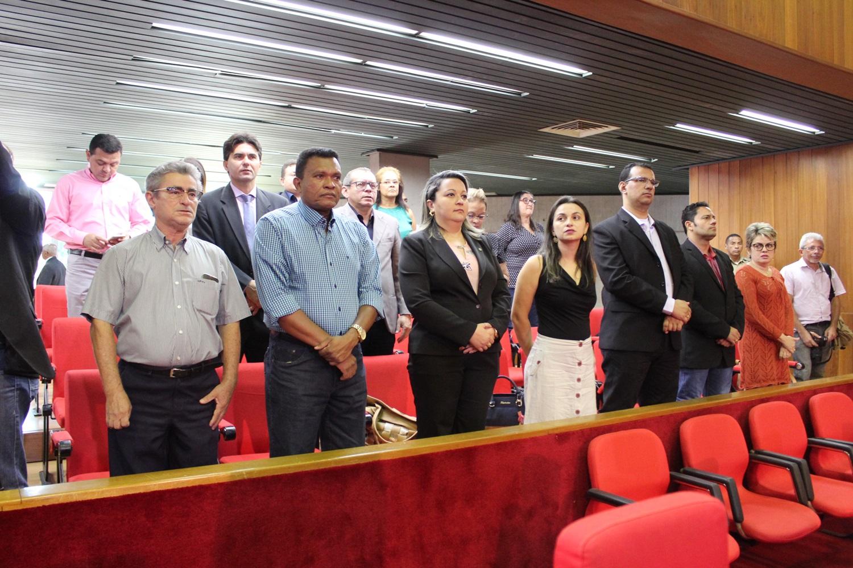 Contadores são homenageados com sessão solene na Assembleia Legislativa
