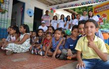 CRC-PI realiza ação social com crianças do bairro Satélite
