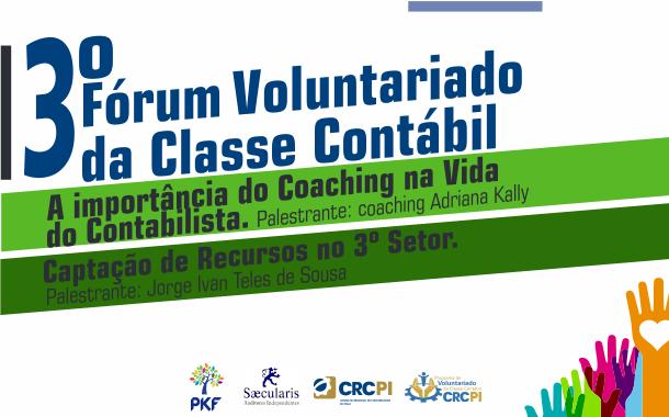 CRC-PI abre inscrições para Fórum Voluntariado da Classe