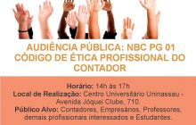 CRC-PI realiza audiência pública para construção do novo código de ética profissional do contador