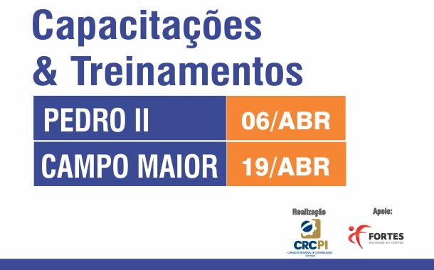 CRC promove capacitações em Campo Maior e Pedro II