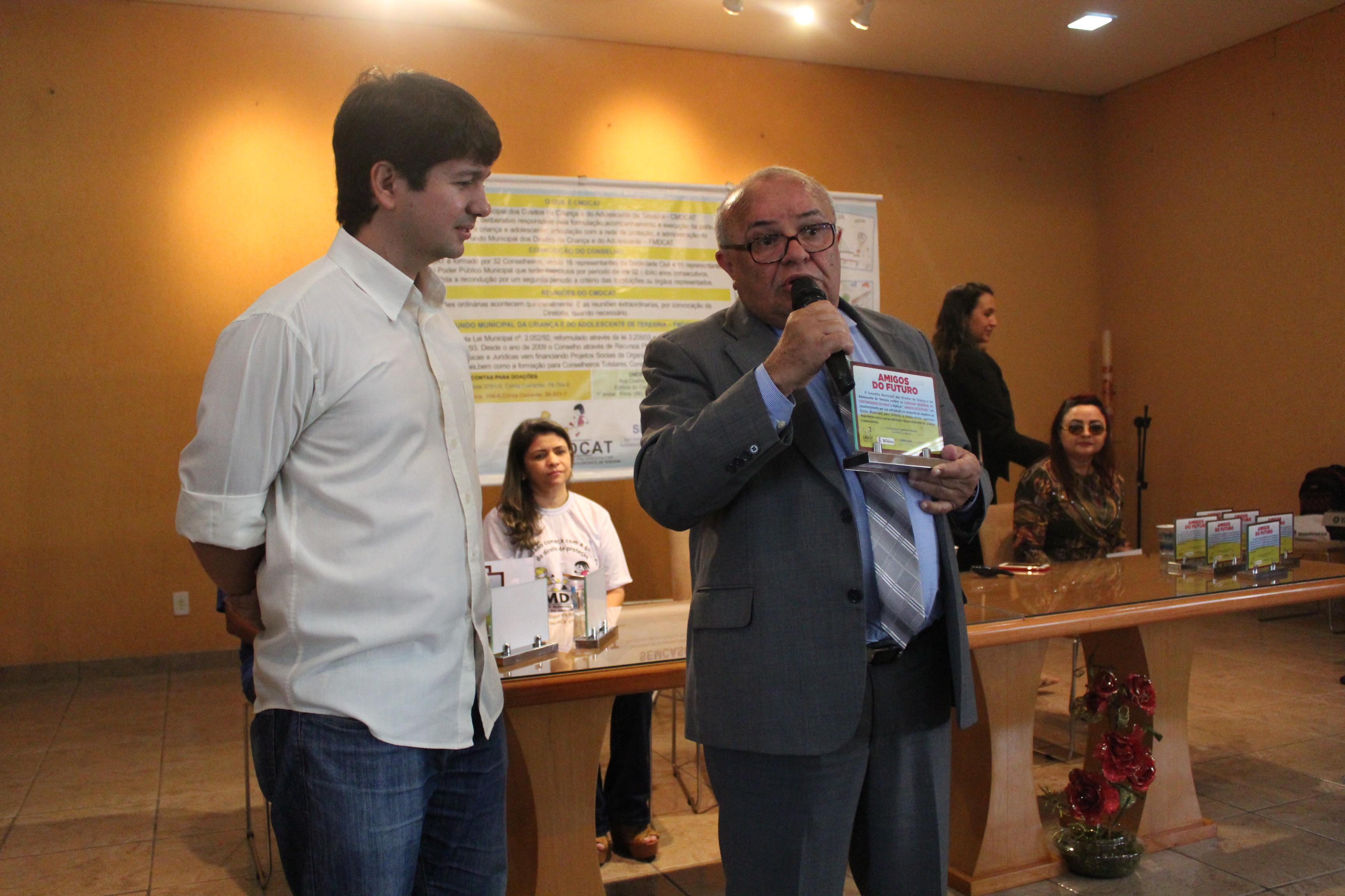 Amigo do Futuro: CRC-PI é homenageado em evento por apoiar iniciativas voltadas para crianças e adolescentes