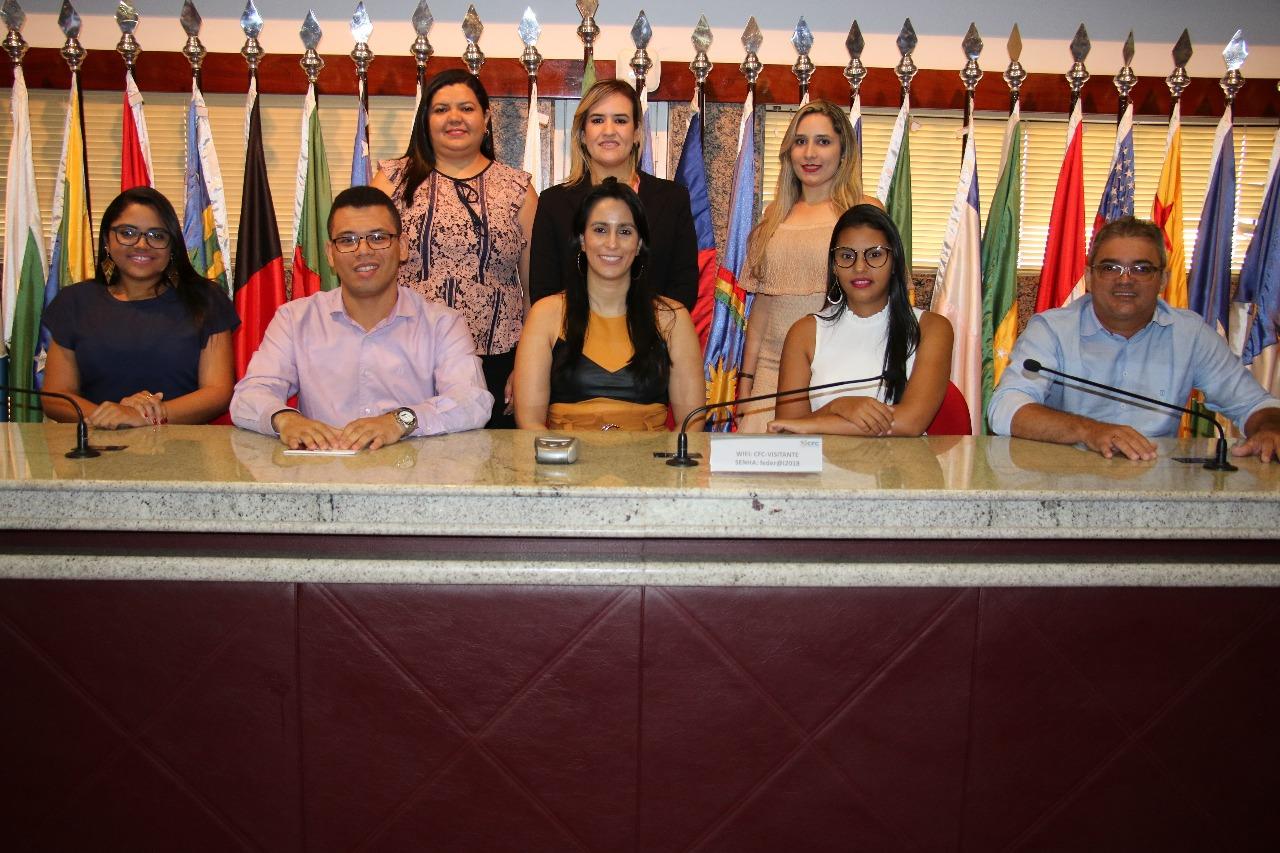 Formandos de Contábeis da FAEPI visitam CRC-PI e CFC