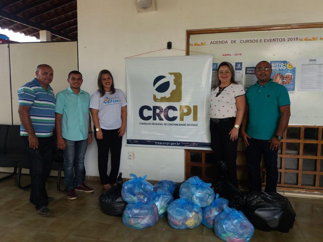 CRC-PI faz doação de alimentos a famílias desabrigadas de José de Freitas
