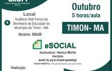 CRC-PI promove curso eSocial em Timon