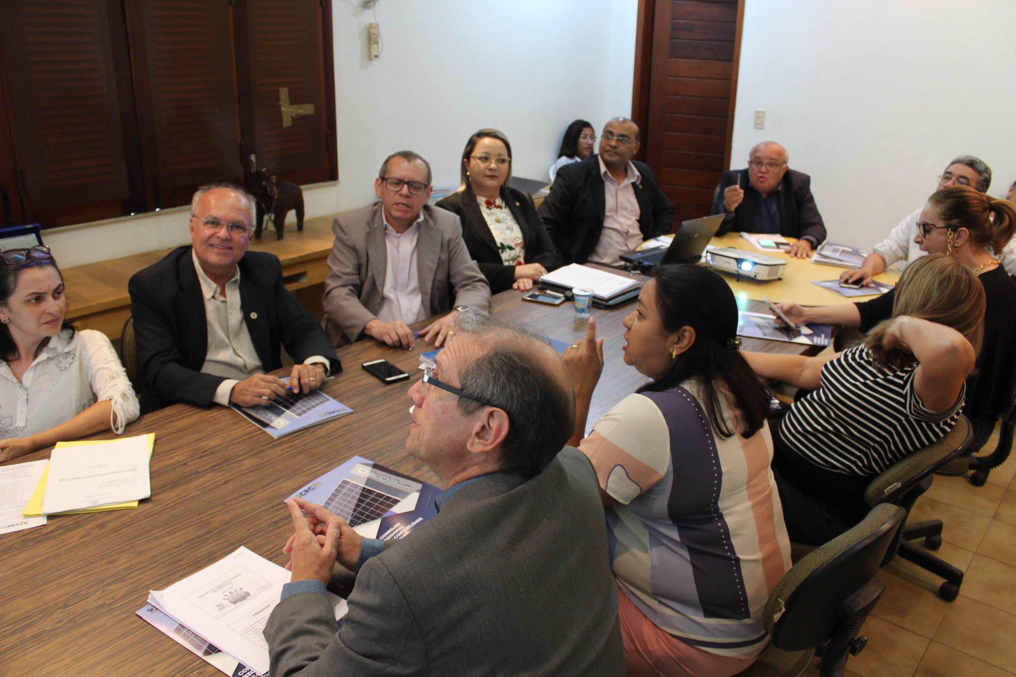 CRC-PI faz balanço das ações de setembro de 2018 em reunião plenária