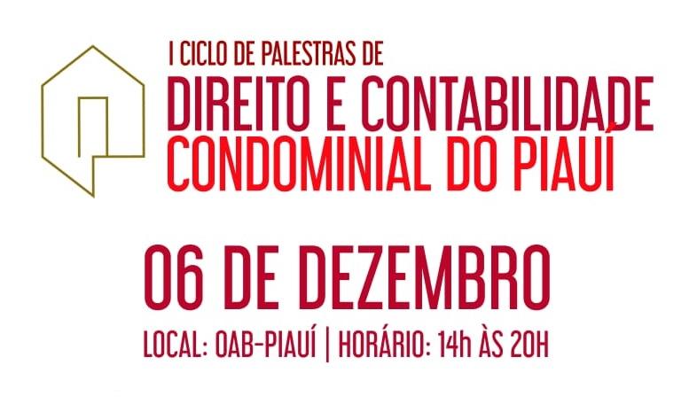 Evento debaterá Direito e Contabilidade Condominial no dia 6 de dezembro