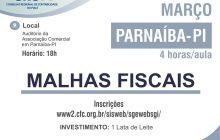 CRC-PI promove capacitação sobre Malhas Fiscais em Parnaíba
