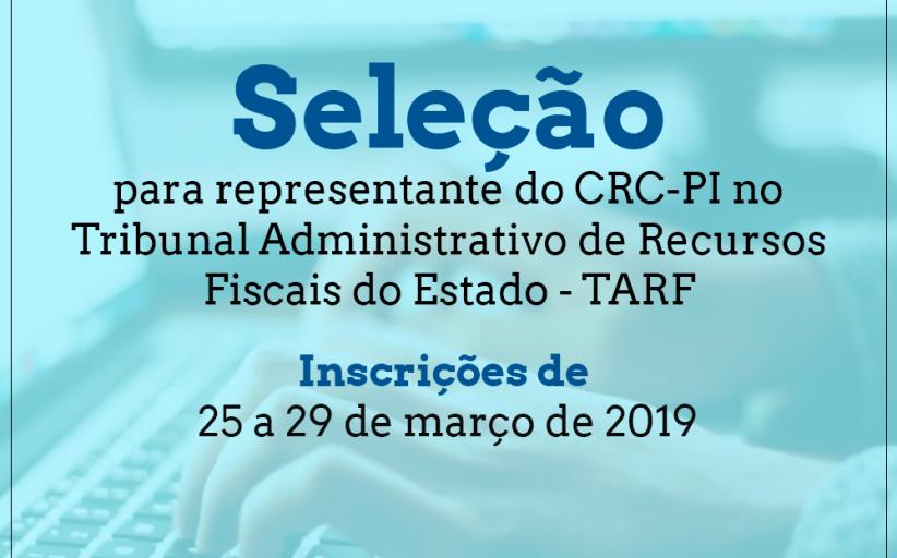CRC-PI abre seleção para vaga no Tribunal Administrativo de Recursos Fiscais do Estado