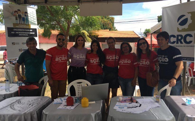CRC orienta população durante Teresina em Ação