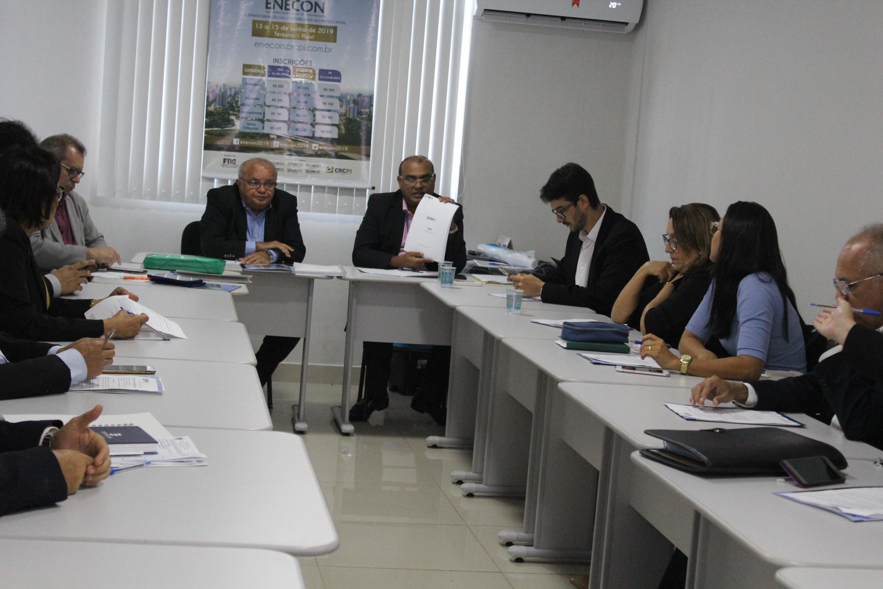 CRC-PI faz balanço das ações de abril de 2019 em reunião plenária