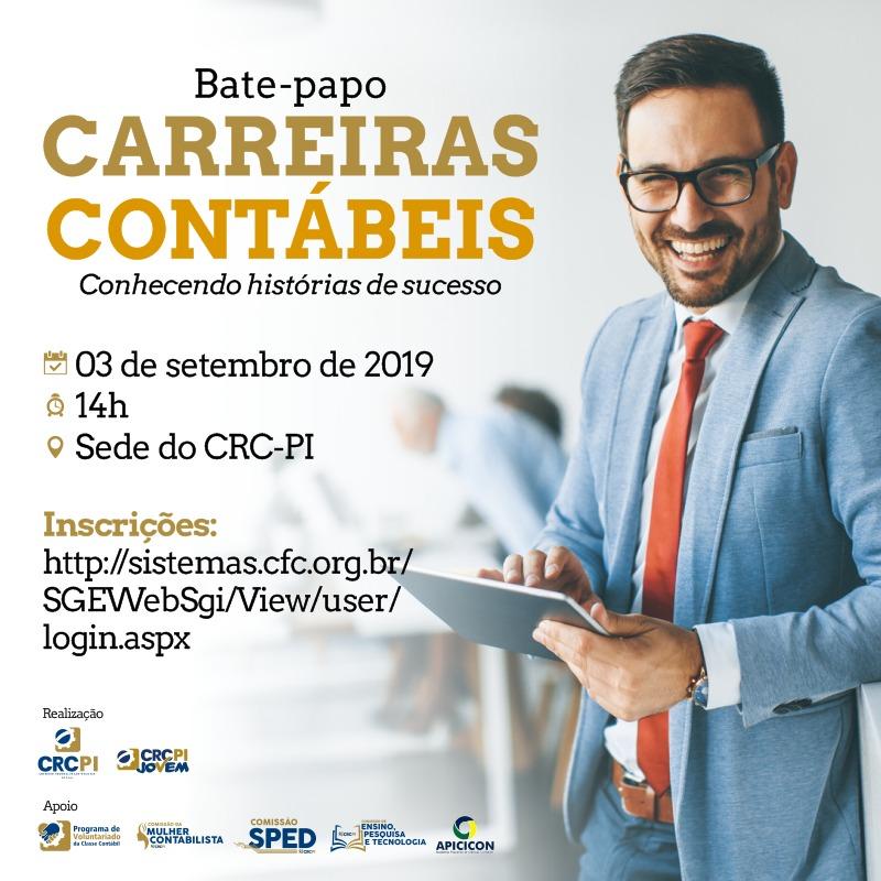 Bate-papo abordará histórias de sucesso em Carreiras Contábeis