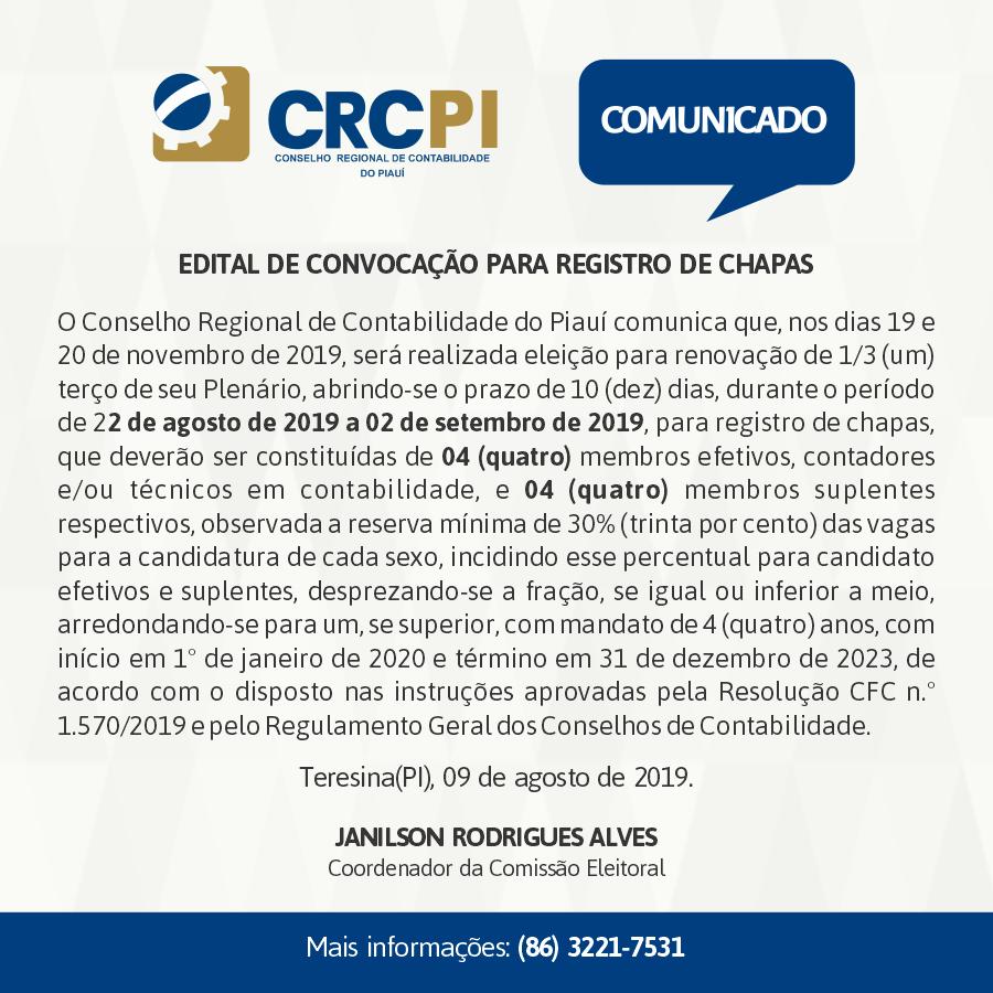CRC Comunicado