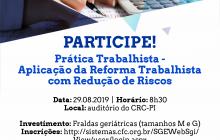 Curso trata sobre aplicação da Reforma Trabalhista