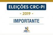 CRC-PI divulga o resultado das Eleições CRCs 2019