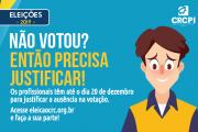 Eleições CRCs 2017: Prazo para justificativa vai até 20 de dezembro