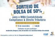Parceria entre CRC-PI e BSSP sorteia bolsa de 50% para MBA