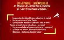 Curso Básico de Rotinas de Escritórios Contábeis do Setor Comercial (Privado) está com inscrições abertas