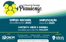 Inscrições abertas para o V Fórum do Contador Piauiense