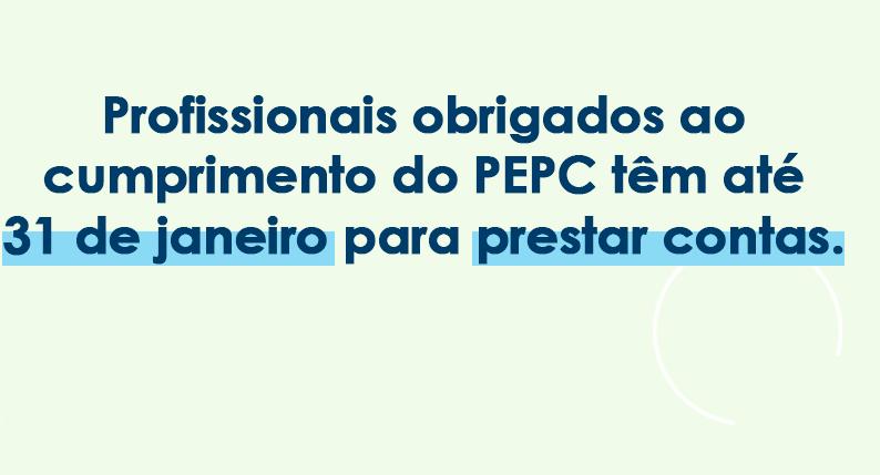 Prestação de contas ao EPC: prazo referente às atividades de 2019 termina no dia 31
