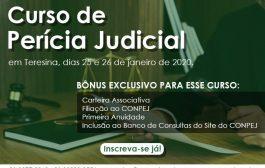 Inscrições abertas para o Curso de Perícia Judicial