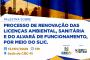"""Inscrições abertas para a palestra """"Processo de Renovação das Licenças Ambientais, Sanitária e do Alvará de Funcionamento, por meio do Slic"""""""