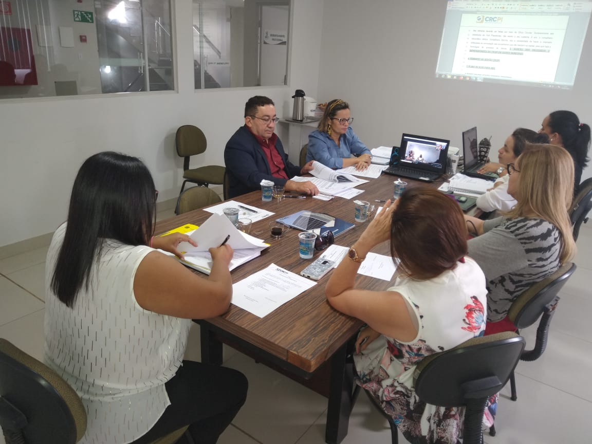 Videoconferência e Contabilidade 4.0 marcam primeira reunião do novo Conselho Diretor do CRC-PI