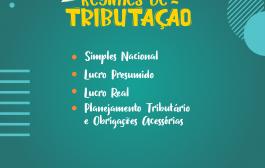 Curso Regime de Tributação com inscrições abertas