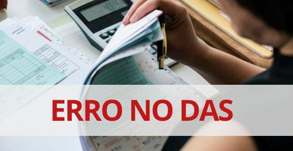 Problema na baixa do DAS de dezembro/19 é confirmado pela Receita