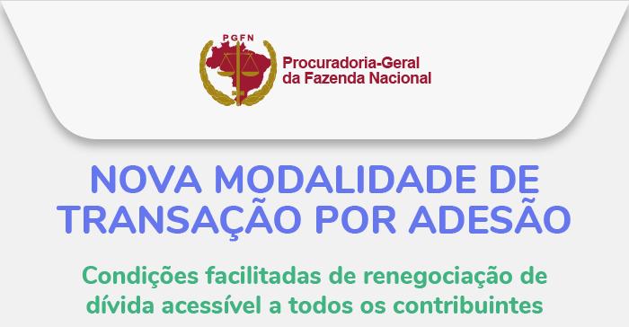 Disponível nova modalidade de transação por adesão acessível a todos os contribuintes até 25 de março